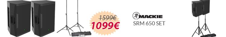 mackie srm 650 set mejor precio oferta