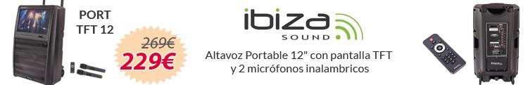 Ibiza Sound PORT TFT 12 oferta