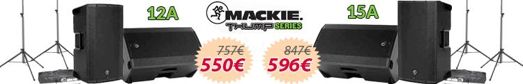 mackie thump 12a 15a set oferta mejor precio