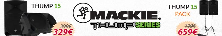 Mackie thump 15 promocion