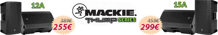 mackie thump 15A 12A oferta