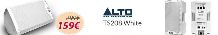 ALTO TS 208 White mejor precio oferta