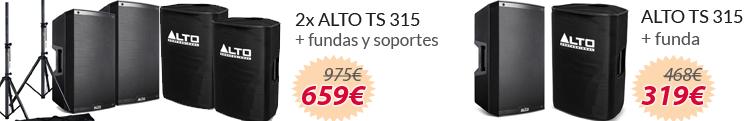 ALTO ts 315 packs oferta mejor precio
