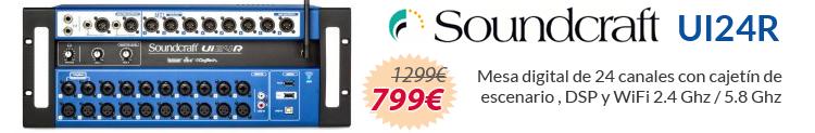 Soundcraft UI24R oferta al mejor precio