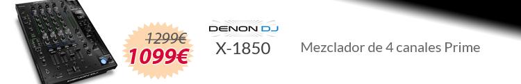 Denon dj x-1850 mejor precio oferta
