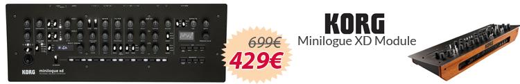 Korg Minilogue Module XD mejor precio oferta
